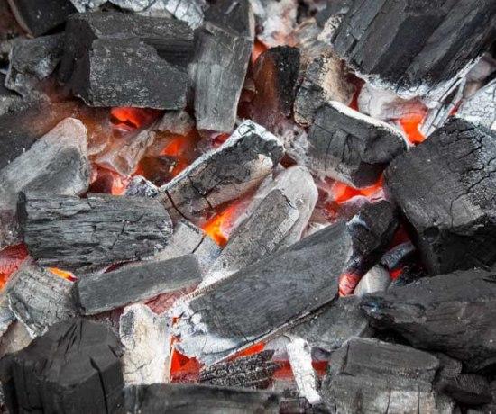 Barbecue aansteken
