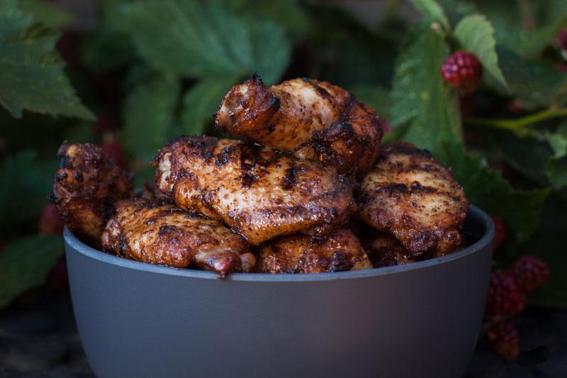 Jamaicaanse Jerk kippenvleugels