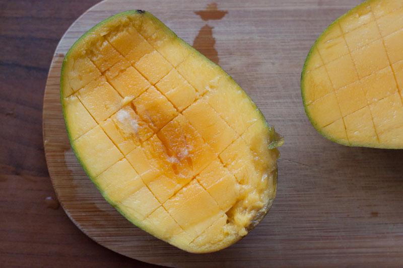 Jewel of Oaxaca - de mango ingesneden