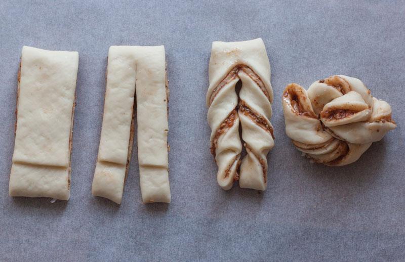Pizzaknopen - zo maak je de knopen