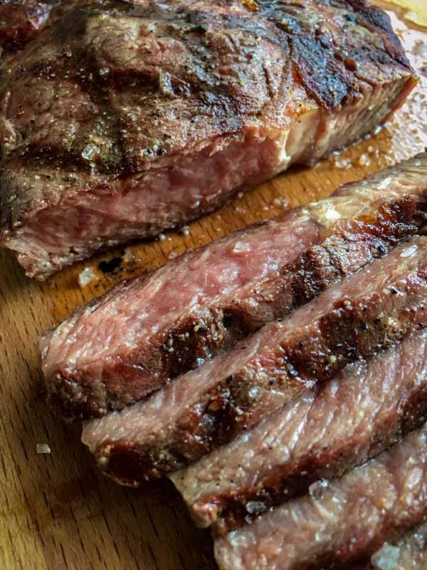 Bevroren steak grillen