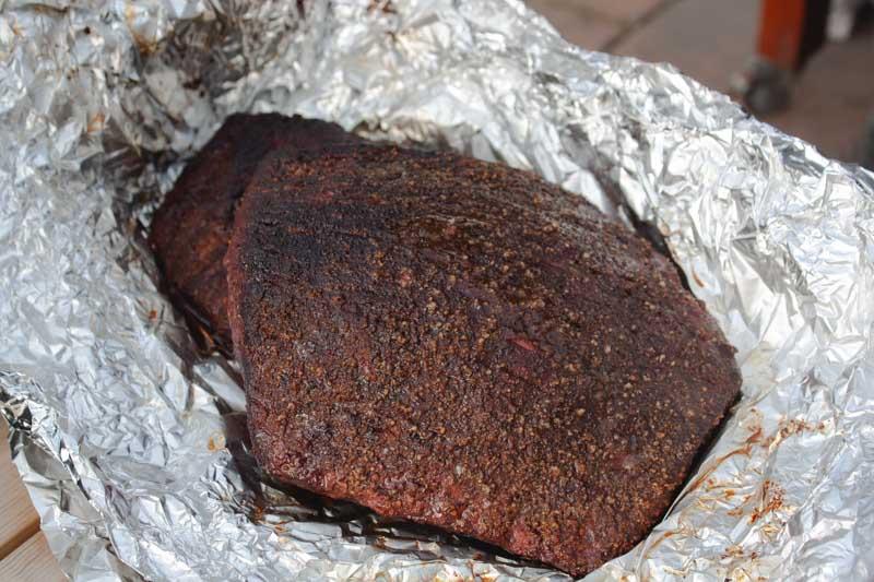 Hot and fast brisket - klaar