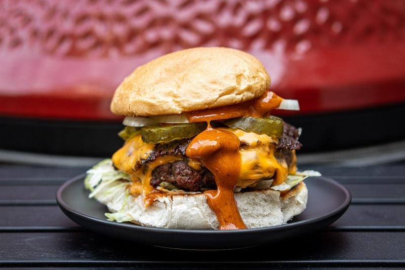 Double Joy Burger