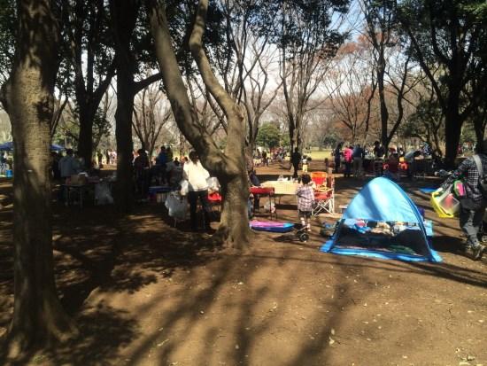 小金井公園 バーベキューエリア
