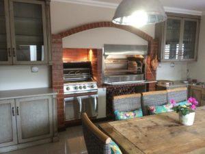 Home Fires Stainless Steel Build-In Braai
