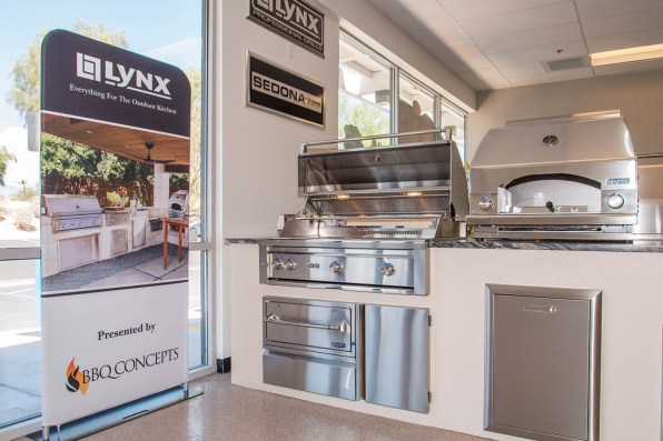 Custom Lynx Professional Outdoor Kitchen & Components by BBQ Concepts of Las Vegas, Nevada