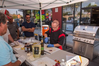 Chef instructor Phillip Dell at BBQ Concepts of Las Vegas, Nevada. Back to Basics Grilling Class - Saturday, September 16th 2017 with Chef Phillip Dell
