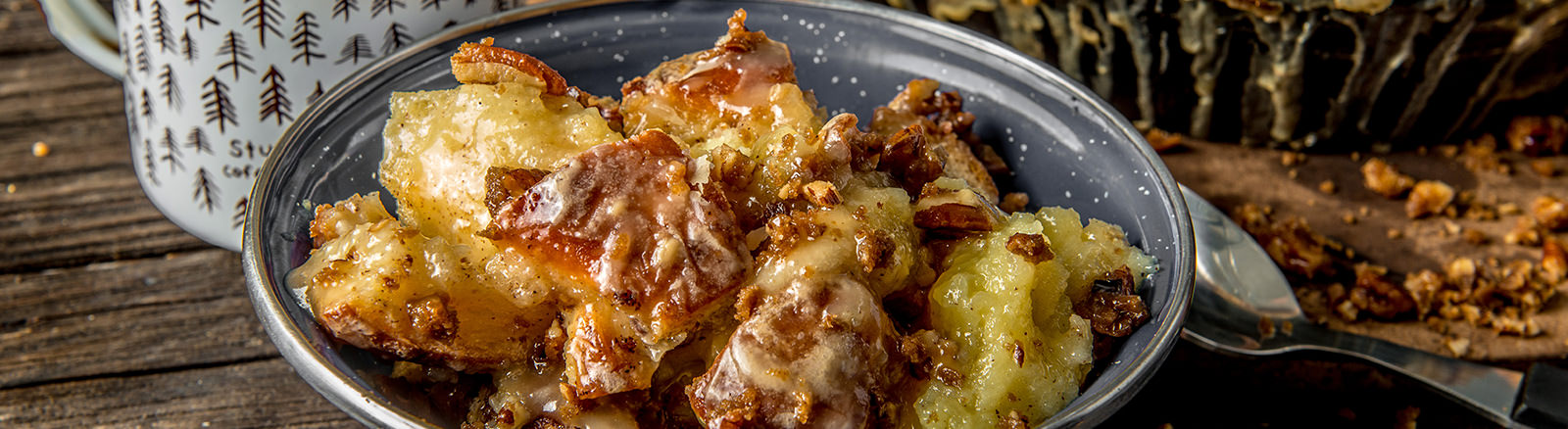Traeger Recipe - Bread Pudding Traeger Wood Pellet Grills