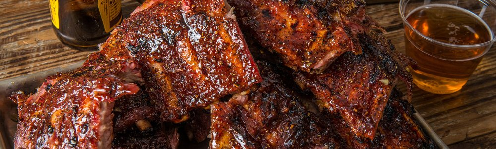 Traeger Wood Pellet Grill Recipe - BBQ Baby Back Ribs with Bacon Pineapple Glaze By Scott Thomas