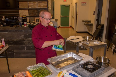 Chef Phillip Dell at The Ultimate Holiday Grilling Class 2017 - BBQ Concepts of Las Vegas, Nevada