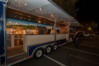 The Almo Corporations Alfresco Open Air Culinary Systems Trailer