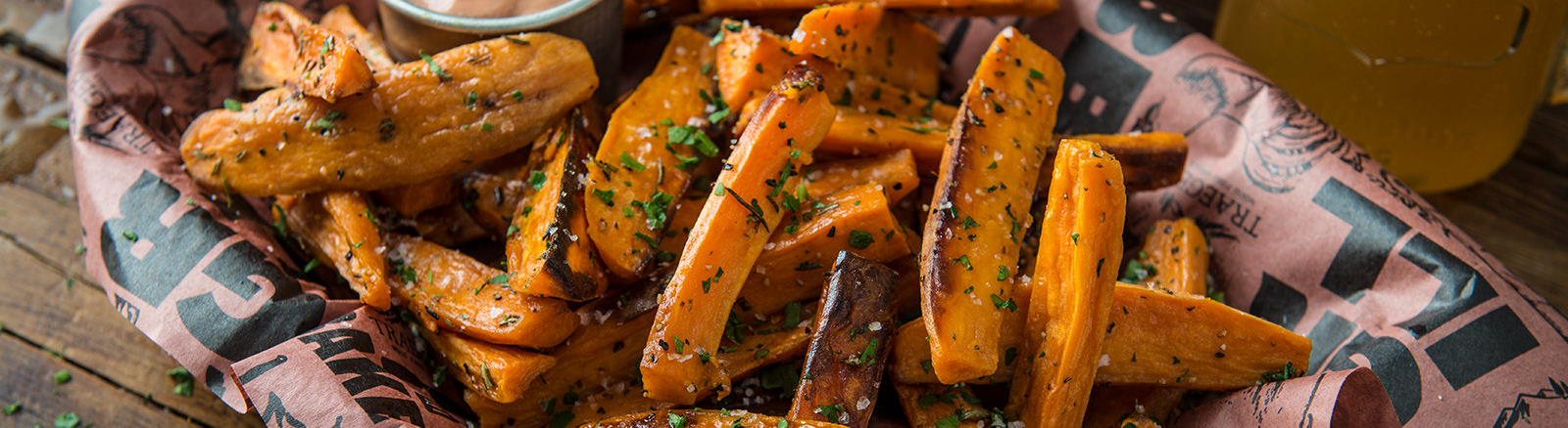 Sweet Potato Steak Fries Traeger Wood Fired Grills