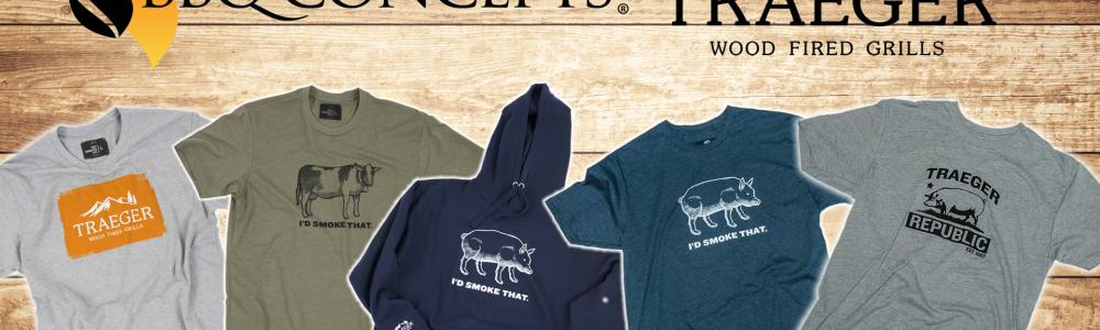 Traeger Wood Pellet Grill Apparel Now Available at Barbecue Concepts of Las Vegas, Nevada