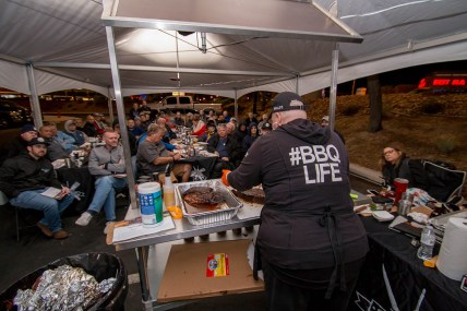 Diva Q BBQ - Danielle Bennett at Traeger Shop Class in Las Vegas, Nevada