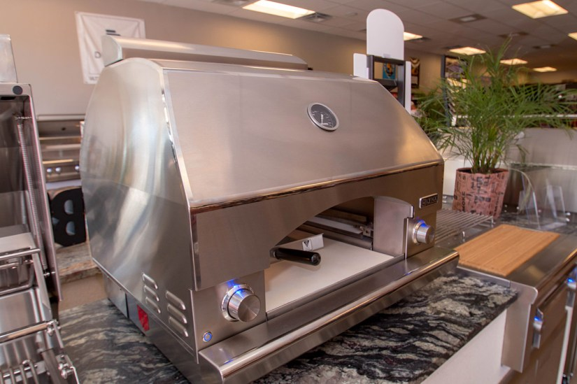 Lynx Gas Pizza Oven on Display at BBQ Concepts