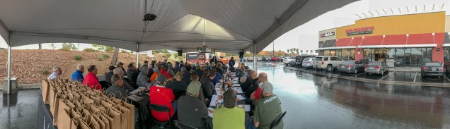 Panoramic Shot of Traeger Barbecue Classics Shop Class - Hosted at BBQ Concepts of Las Vegas, Nevada. #TraegerShopClass #DivaQ #BBQConcepts #LasVegas #Nevada #TeamTraeger