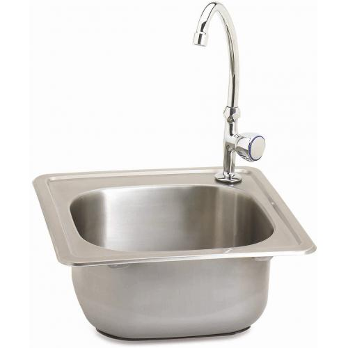 fire magic 15 inch x 15 inch x 6 inch stainless sink