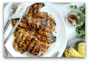 A Simple Honey Mustard Grilled Chicken
