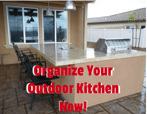 How Important To Organize Your Outdoor Kitchen?