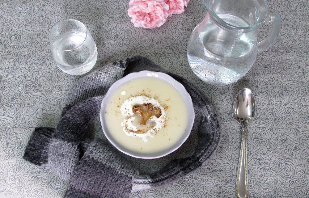 מרק כרובית וארטישוק ירושלמי חלומי