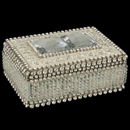 bb Simon Swarovski crystal jewelry box J-702