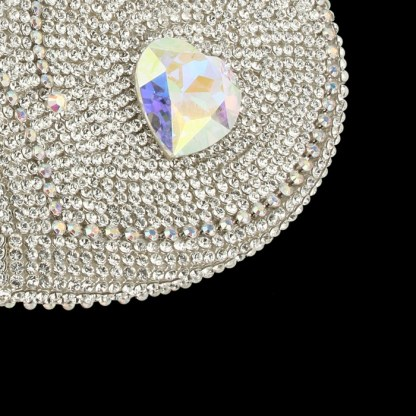 bb Simon Swarovski crystal jewelry box J-710