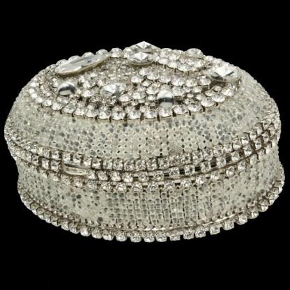 bb Simon Swarovski crystal jewelry box J-713