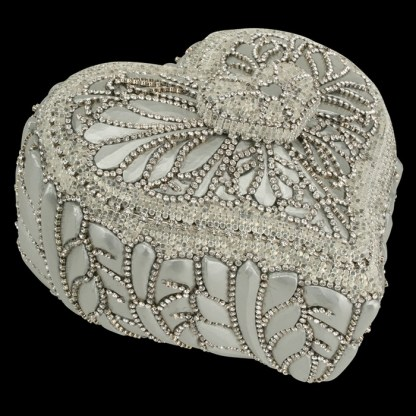 bb Simon Swarovski crystal jewelry box J-716