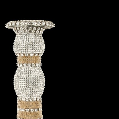 bb Simon Swarovskii crystal Candle holder CDH-211