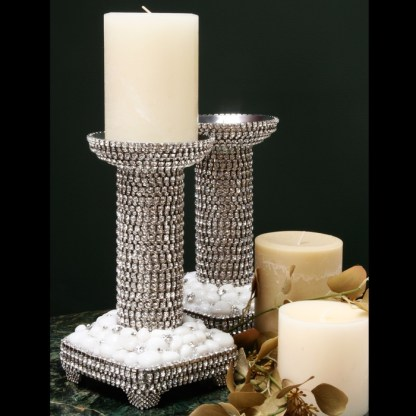 CDH-229 bb Simon Swarovski crystal Candle holder