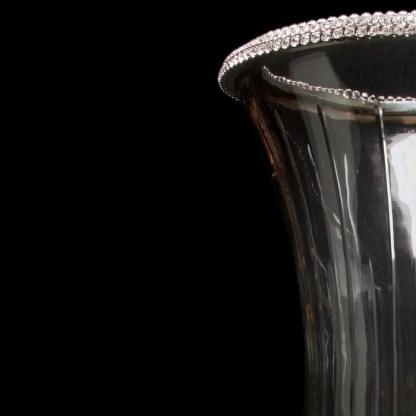 CDH-238 bb Simon Swarovski crystal Candle holder