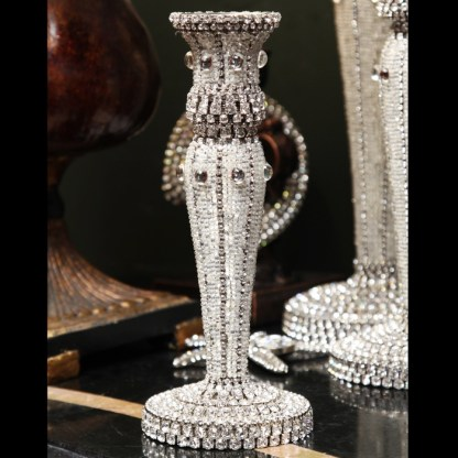 CDH-240-S bb Simon Swarovski crystal Candle holder