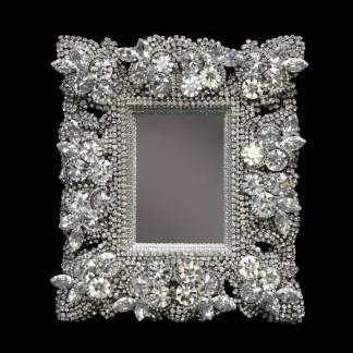 F-145-CLEAR-M bb Simon Swarovski crystal frame