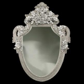 M-202 BB Simon Shimmer Bling Wall Mirror