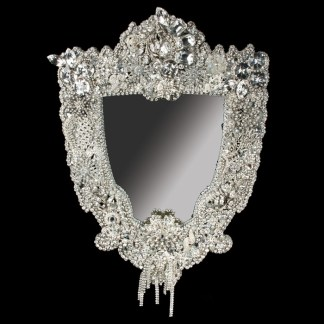 M-500 BB Simon Crystal Clear Diamond Mirror