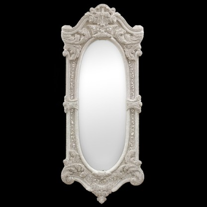 M-511-CLEAR BB Simon Large Tall Diamond Mirror