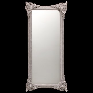 M-538-Clear BB Simon Tall Authentic Crystal Mirror