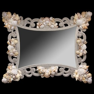 M-539 BB Simon Wide Crystal Mirror