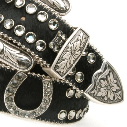 Metallic B.B.SIMON BELT