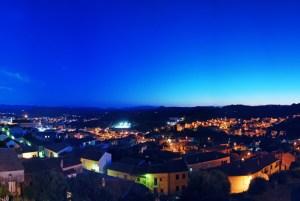 Arzachena, Panorama notturno