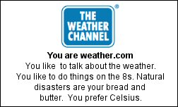 You are weather.com