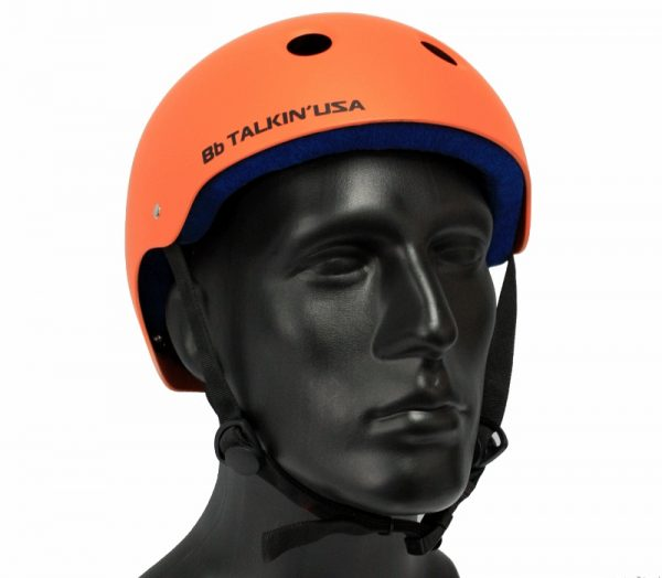 bbtalkin usa orange water helmet