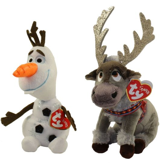Ty Beanie Babies Set Of 2 Olaf Sven Disney S Frozen 2 7 5 Inch Bbtoystore Com Toys Plush Trading Cards Action Figures Games Online Retail Store Shop Sale