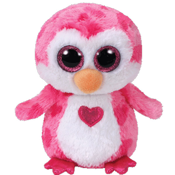 TY Beanie Boos JULIET The Penguin Glitter Eyes