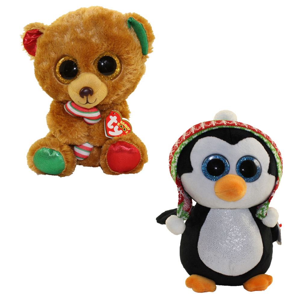 TY Beanie Boos Set Of 2 CHRISTMAS 2017 Releases Bella