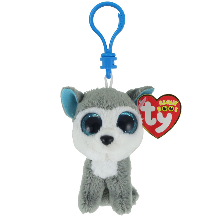 TY Beanie Boos SLUSH The Husky Dog Glitter Eyes