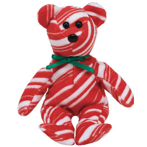 TY Jingle Beanie Baby PEPPERMINT The Bear Walgreens