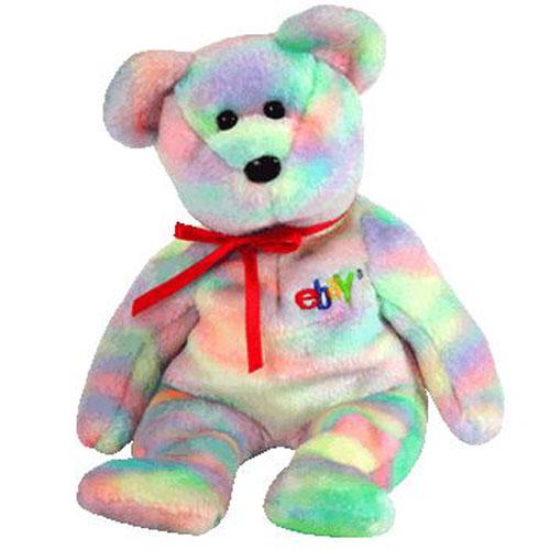 TY Beanie Baby BIDDER The Bear Ebay Amp TY Credit Card