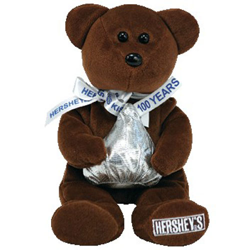 TY Beanie Baby COCOA BEAN The Hershey Bear Walgreens