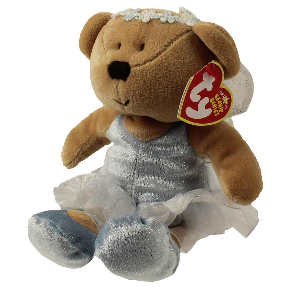 TY Beanie Baby FAIRYDUST The Ballerina Bear 85 Inch